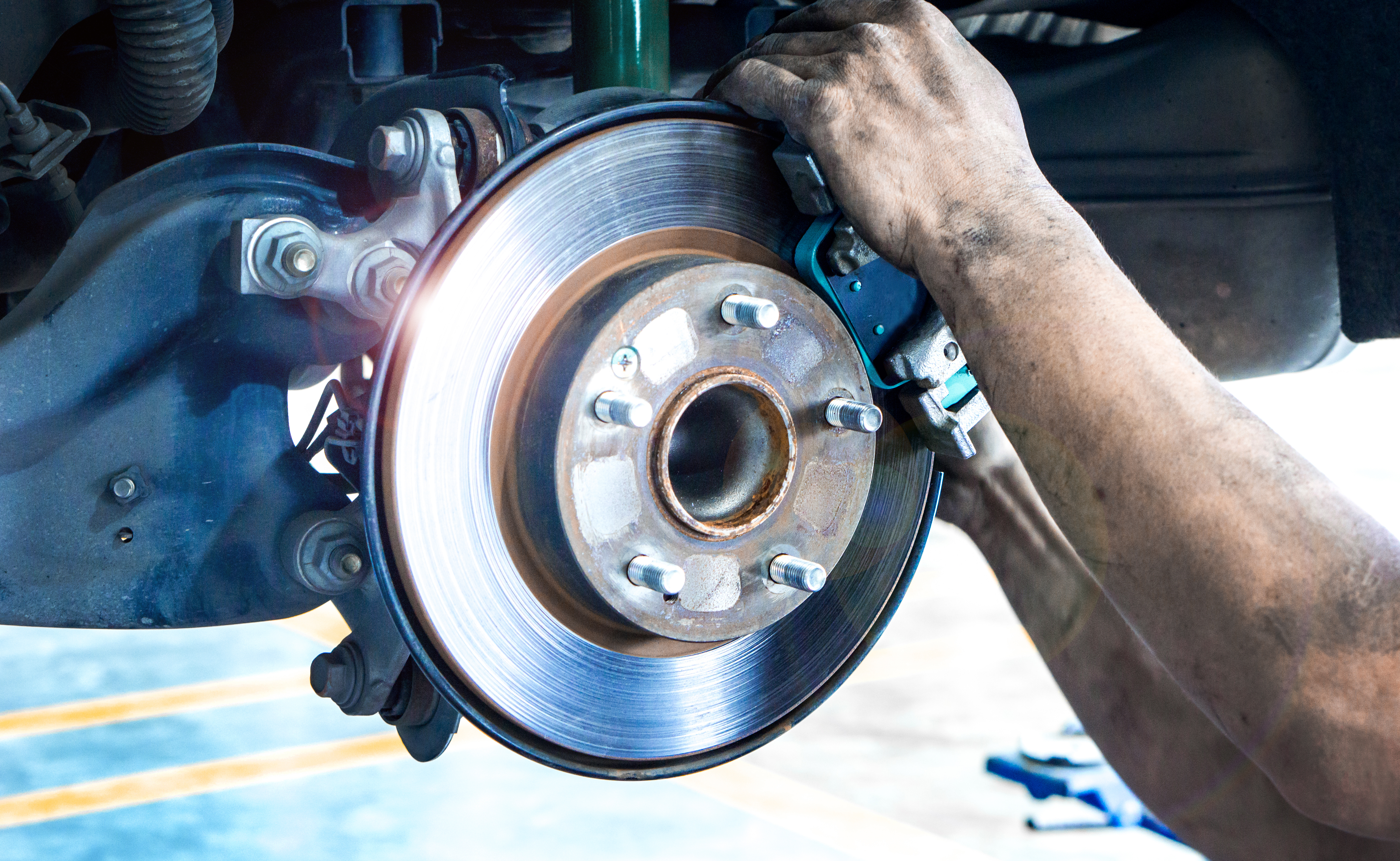 Toyota Complete Brake Service Special