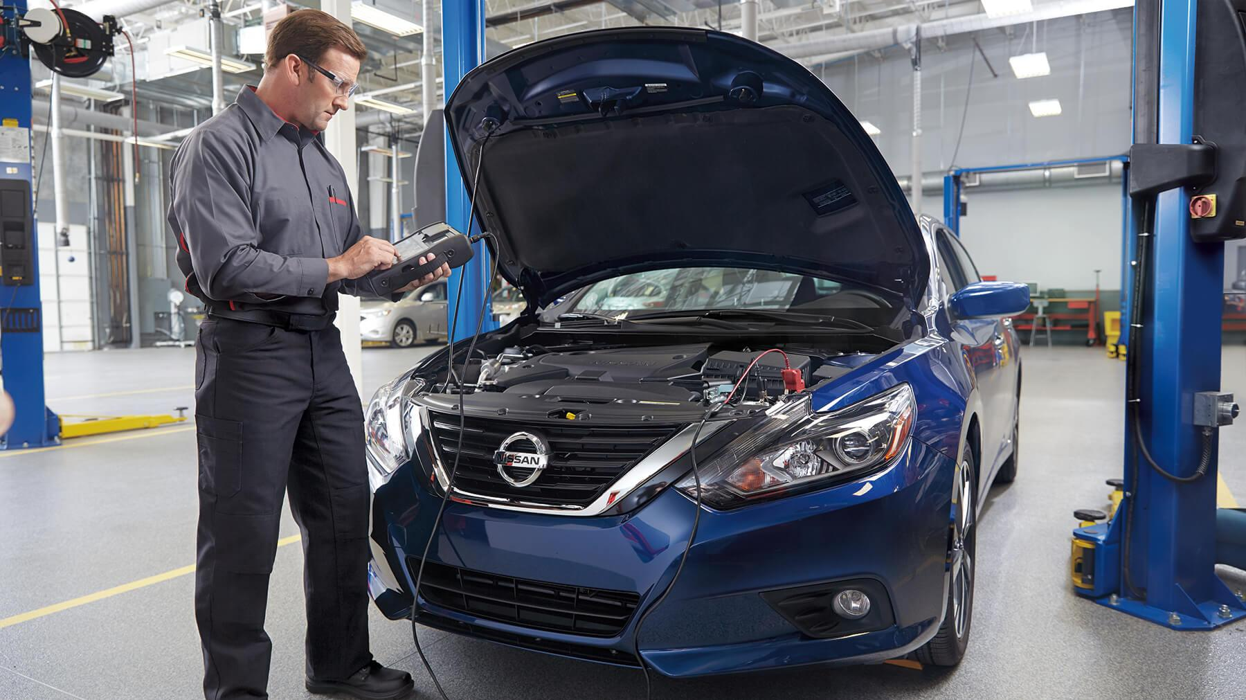 NISSAN VALUE ADVANTAGE® BRAKE PADS & ROTOR REPLACEMENT