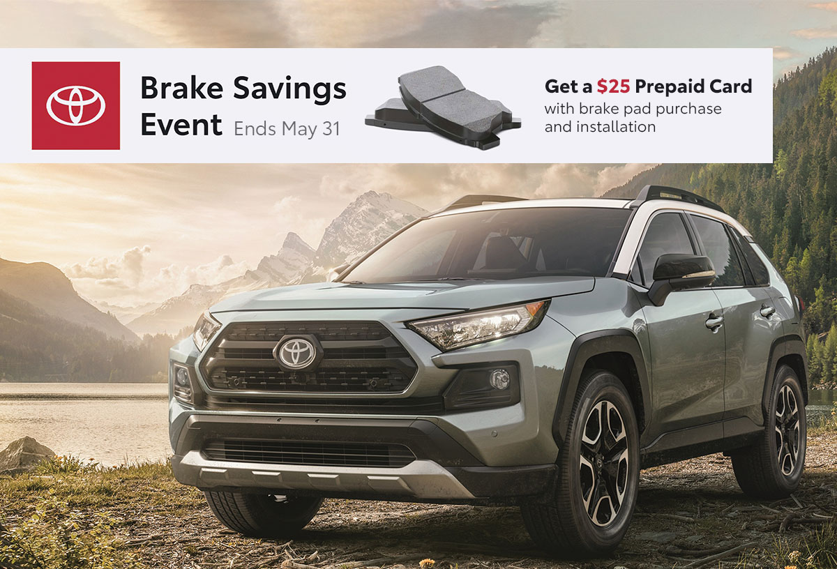 Toyota Brake Savings Event