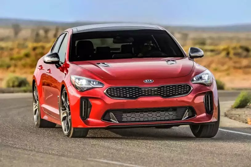 Kia Stinger in Florence