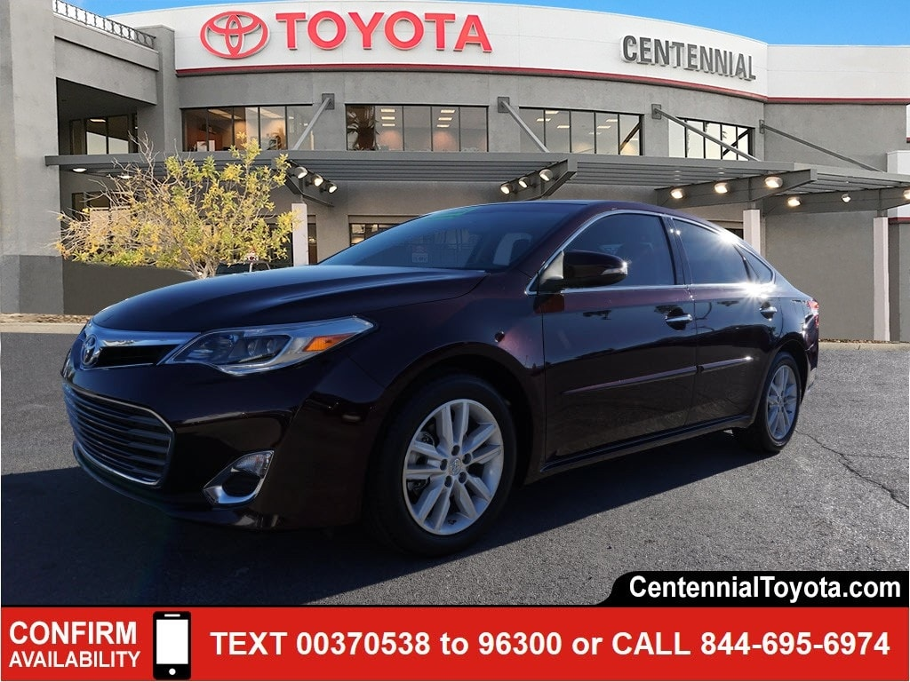 2015 Toyota Avalon For Sale >> Used 2015 Toyota Avalon For Sale In Las Vegas Centennial Toyota In