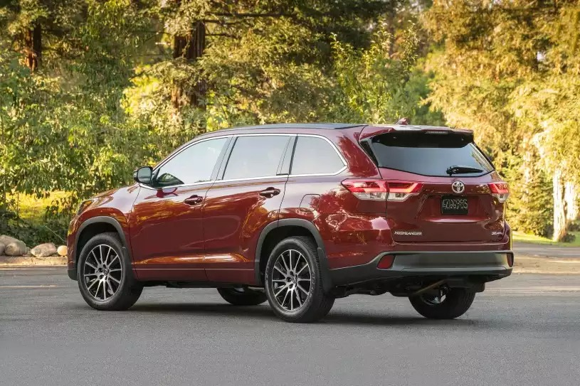 New Toyota Highlander in Jacksonville