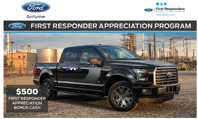 Ford First Responder >> Cella Ford First Responder Program