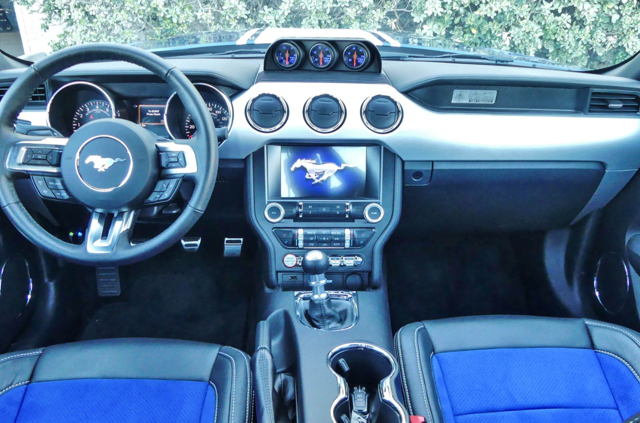 2017 Shelby Super Snake Mustang in Miami Interior