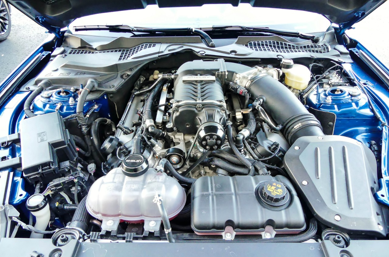 2017 Shelby Super Snake Mustang Engine