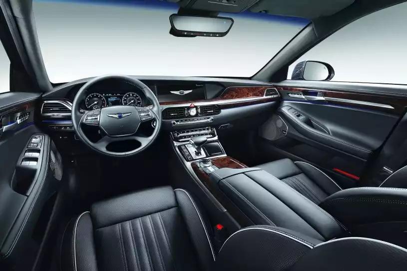 2018 Genesis G90 Base Price 3.3T Premium AWD Pricing front view