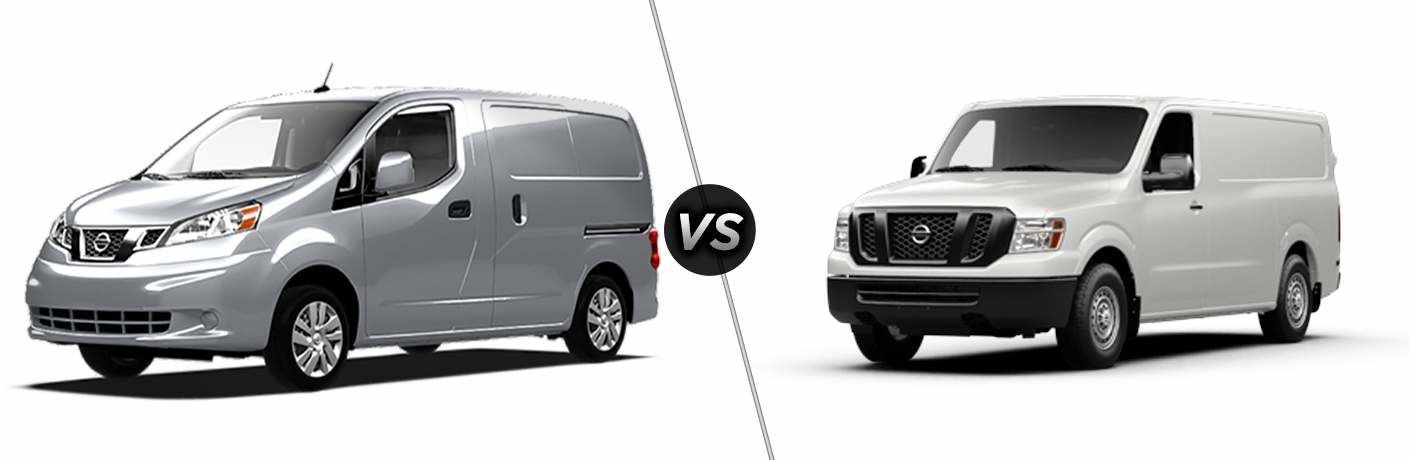2017 Nissan NV200 Vs Ford Transit Connect