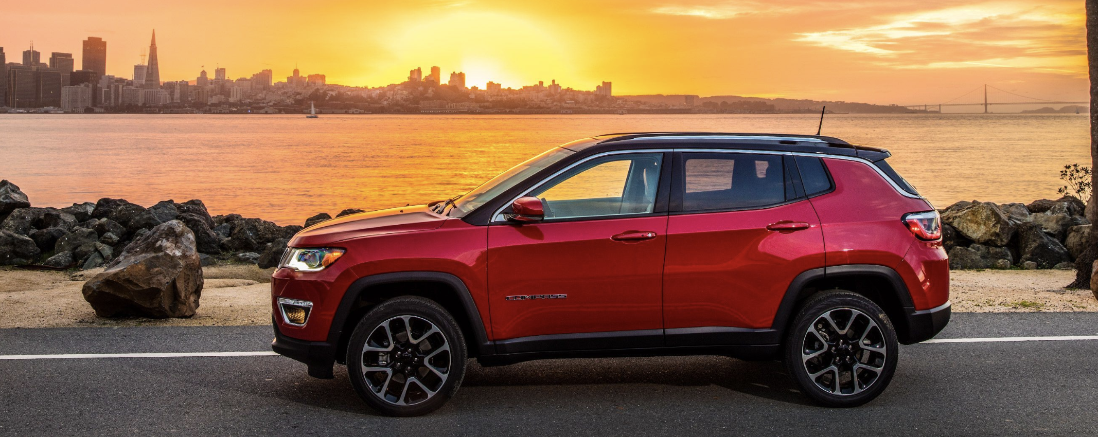 Picture of the new Jeep Compass