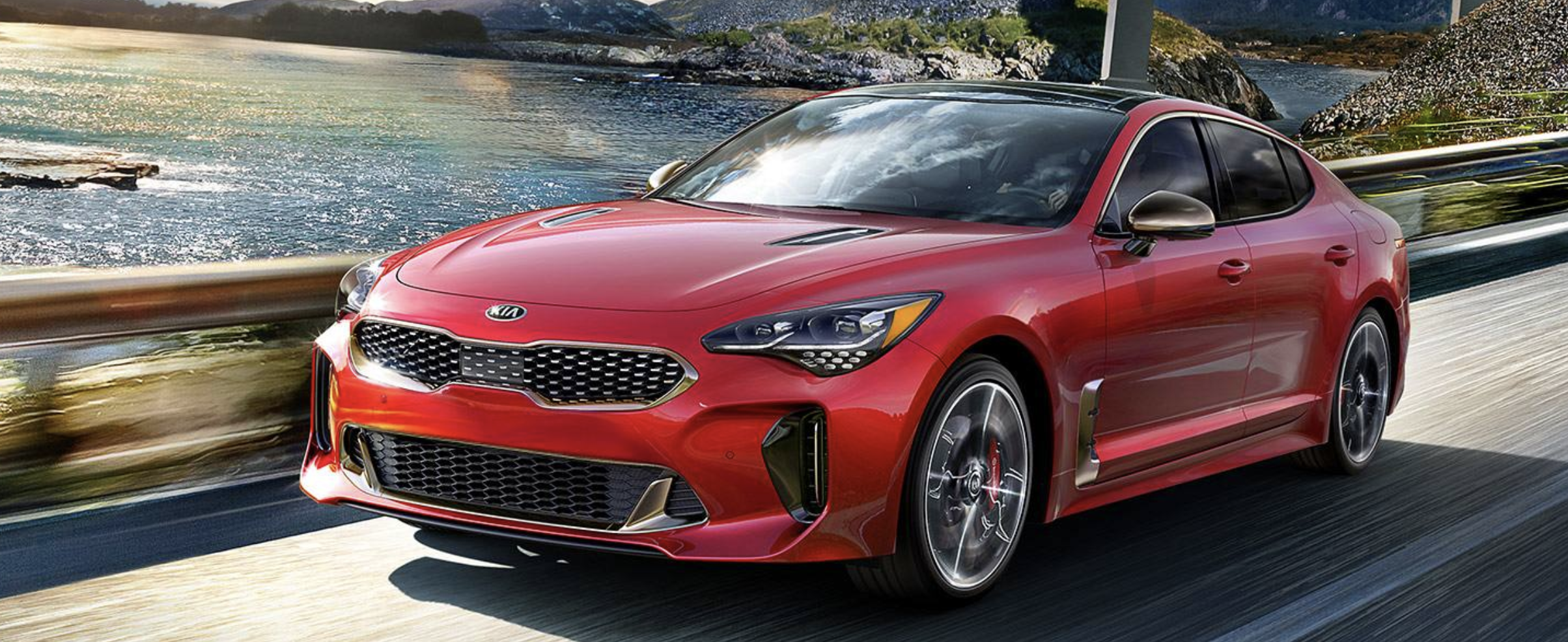 Kia Stinger in Alabama