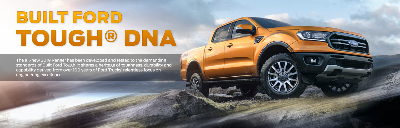 2019 Ford Ranger Orange Body