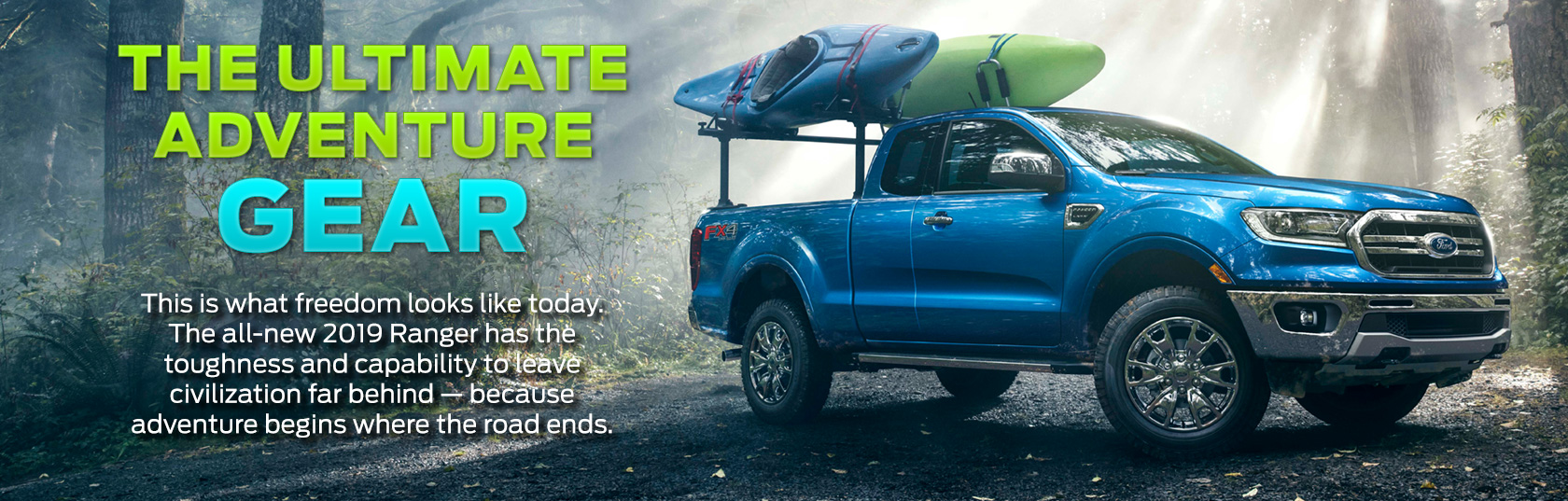 2019 Ford Ranger Is the Ultimate Adventure