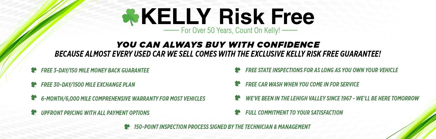 Kelly Risk Free Guarantee Kelly Chrysler Jeep Dodge Ram