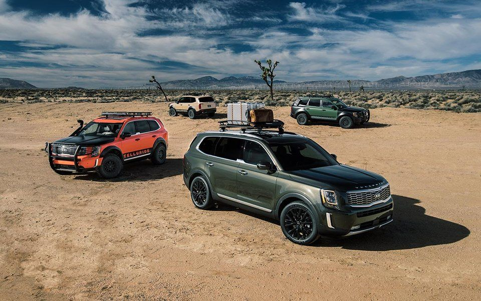 2020 Kia Telluride Multiple Vehicles