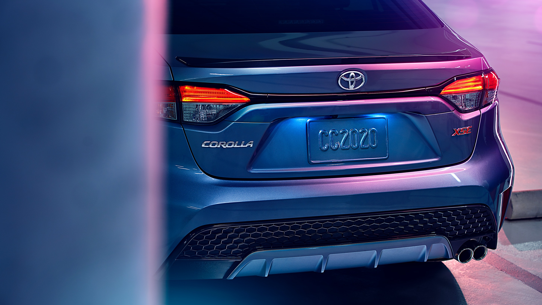 2020 Toyota Corolla Back