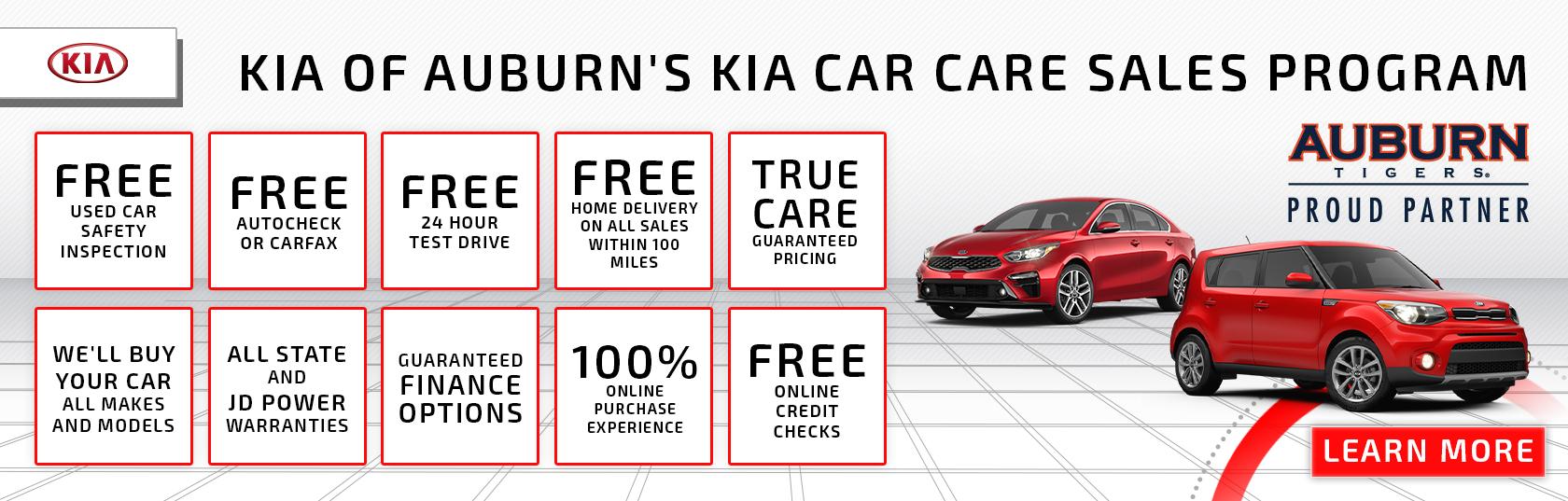 Kia Car Care Sales Program