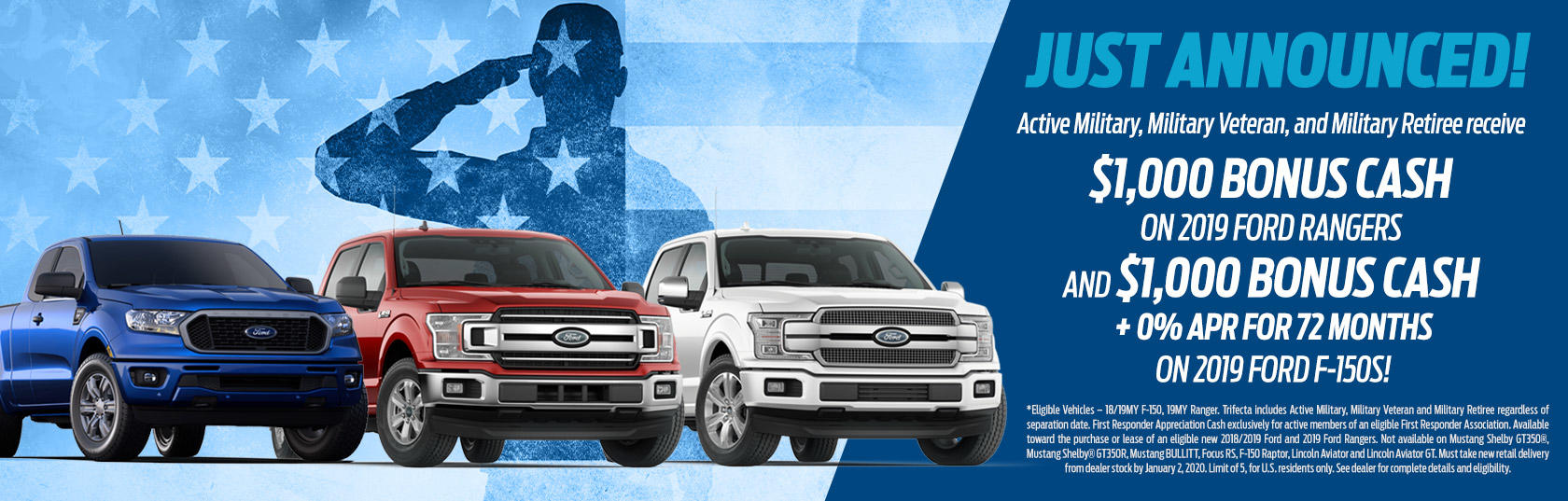 Capital Ford Wilmington >> Military Program Capital Ford Of Wilmington Wilmington Nc
