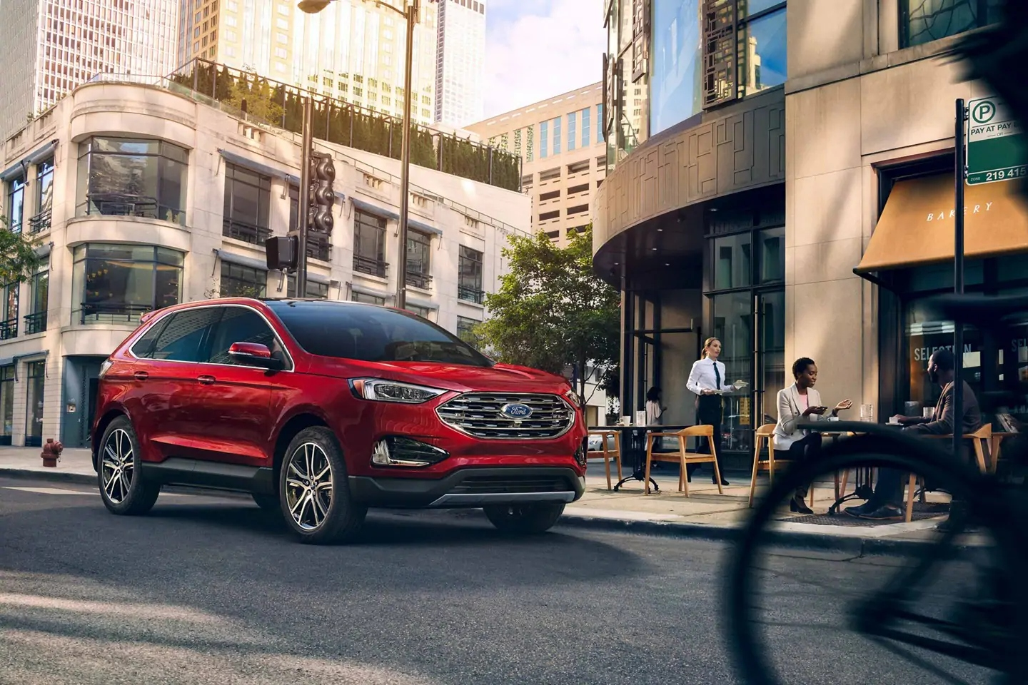 New Ford Edge in Raleigh, NC