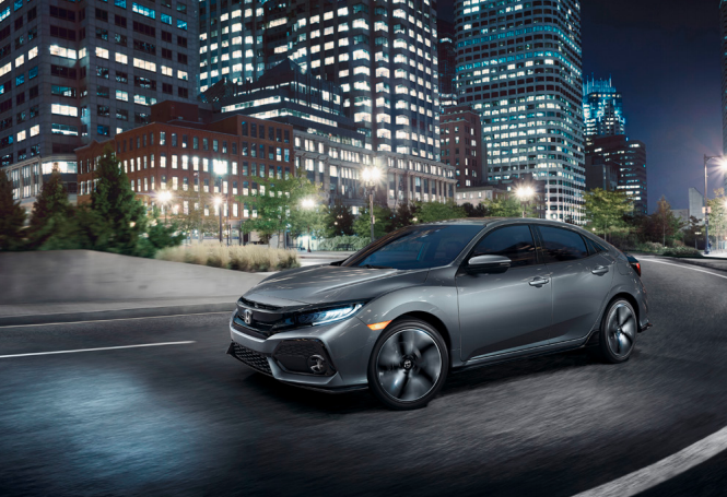 New Honda Civic Hatchback in Southgate, Michigan
