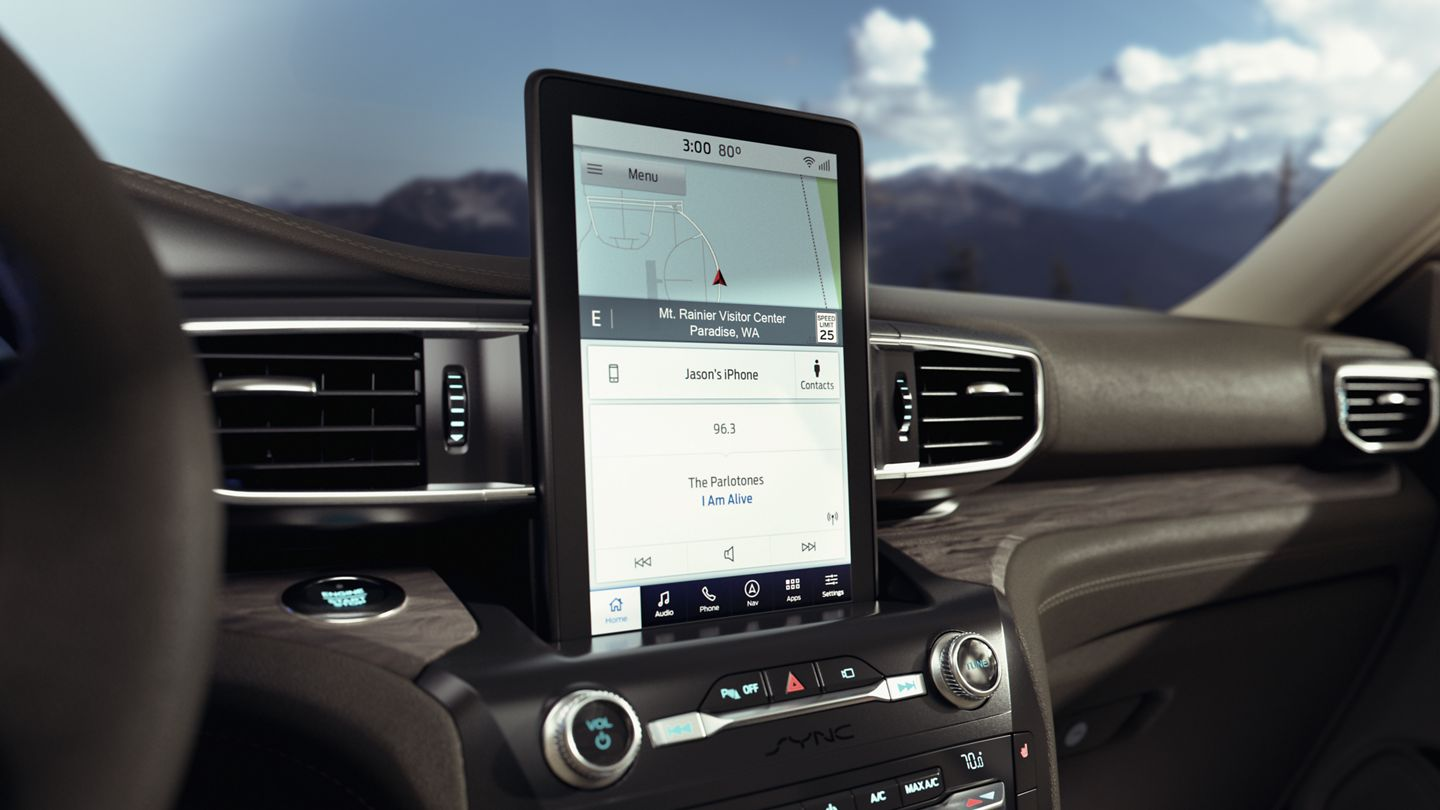 2020 Ford Explorer Touchscreen