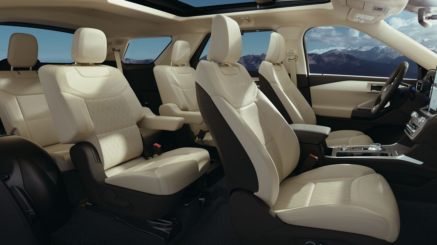 2020 Ford Explorer Seating