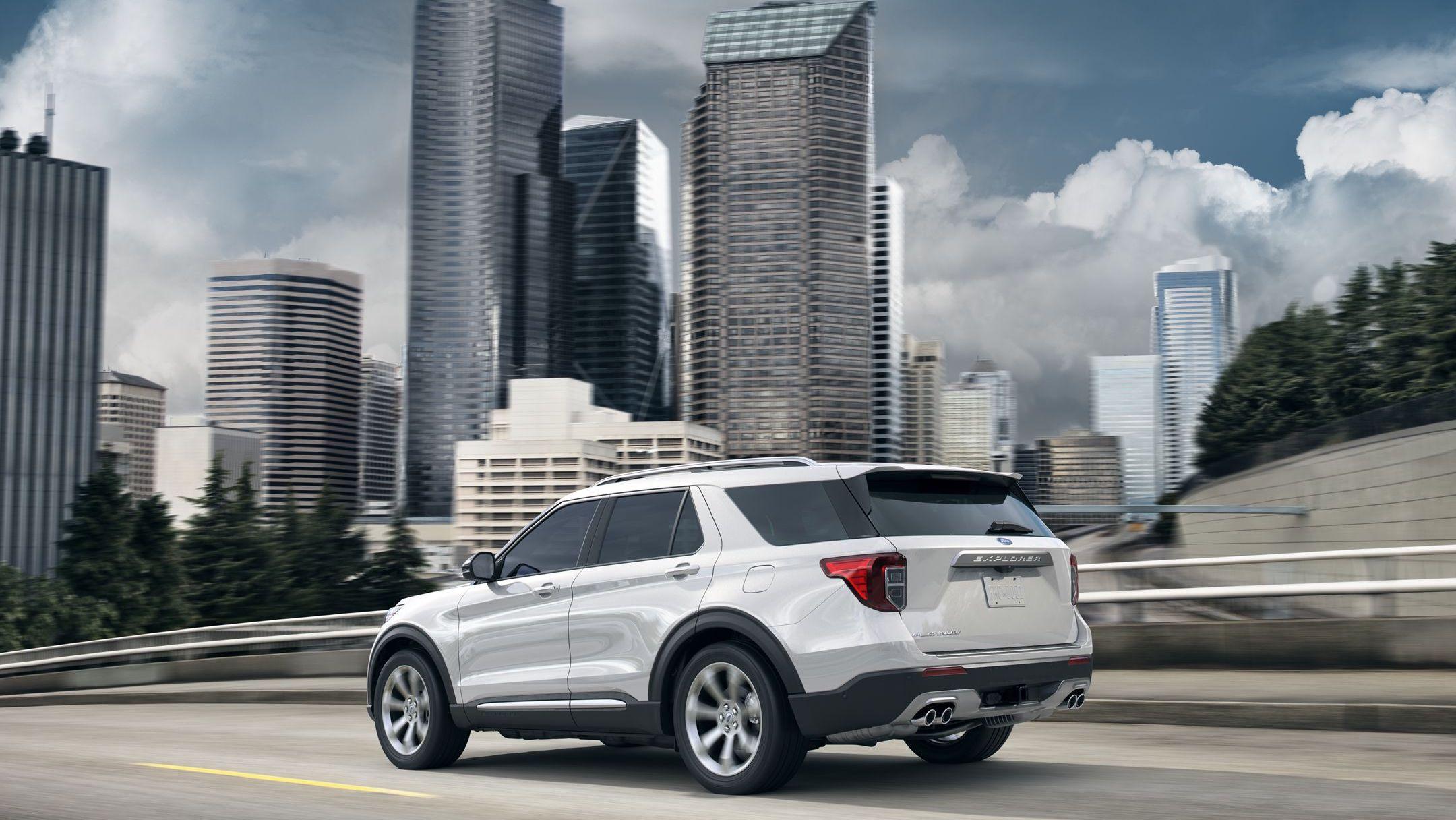 2020 Ford Explorer Rear-Wheel Drive