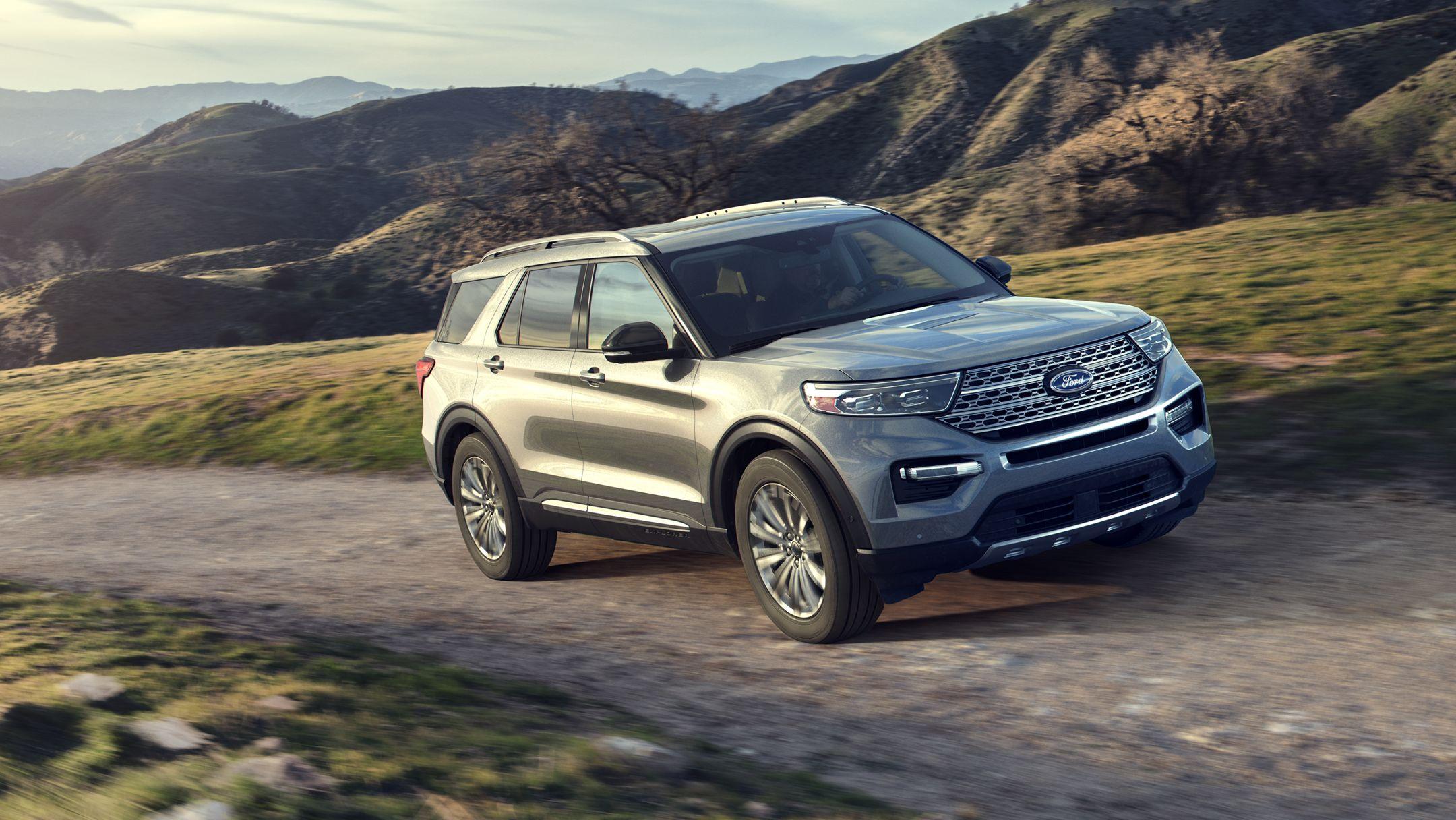2020 Ford Explorer Intelligent 4WD