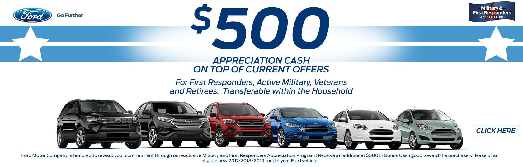 Ford First Responder >> 500 Appreciation Cash Cleveland Ford Cleveland Tn