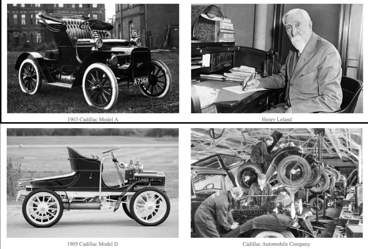 Cadillac History