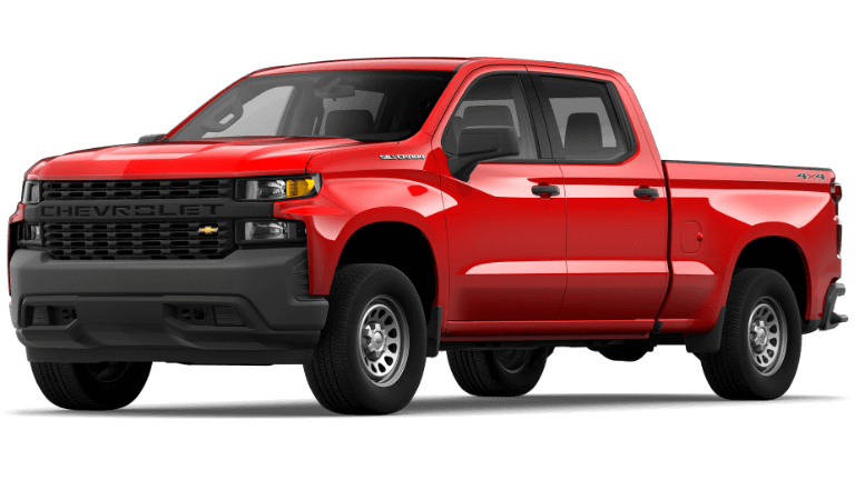 2019 Jeep Silverado 1500 WT - Red Hot