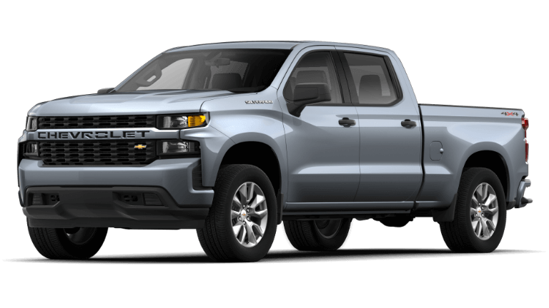 2019 Jeep Silverado 1500 Custom - Satin Steel