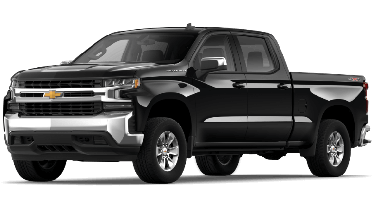 2019 Jeep Silverado 1500 LT - Black