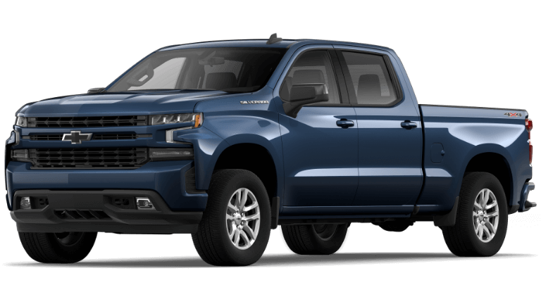 2019 Jeep Silverado 1500 RST - Northsky Blue