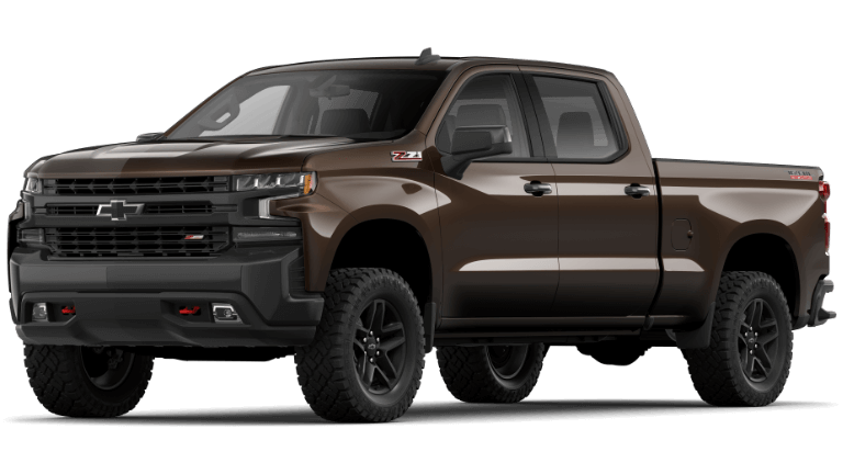 2019 Jeep Silverado 1500 LT Trail Boss - Havana Brown