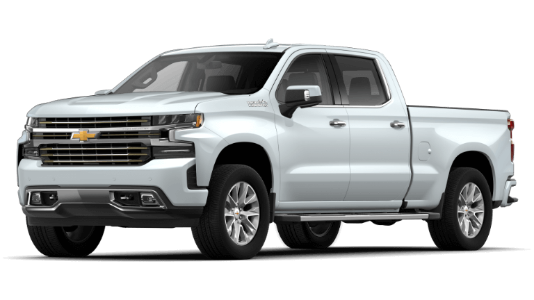 2019 Jeep Silverado 1500 High Country - Summit White