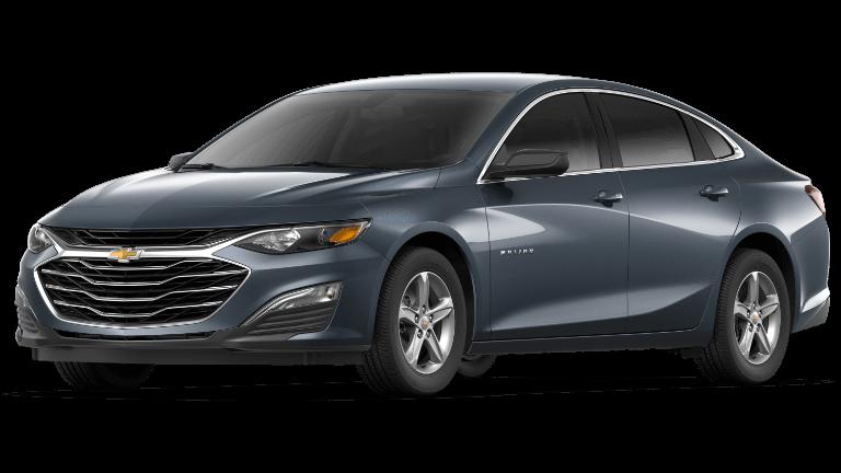 Gray 2019 Chevrolet Malibu LS