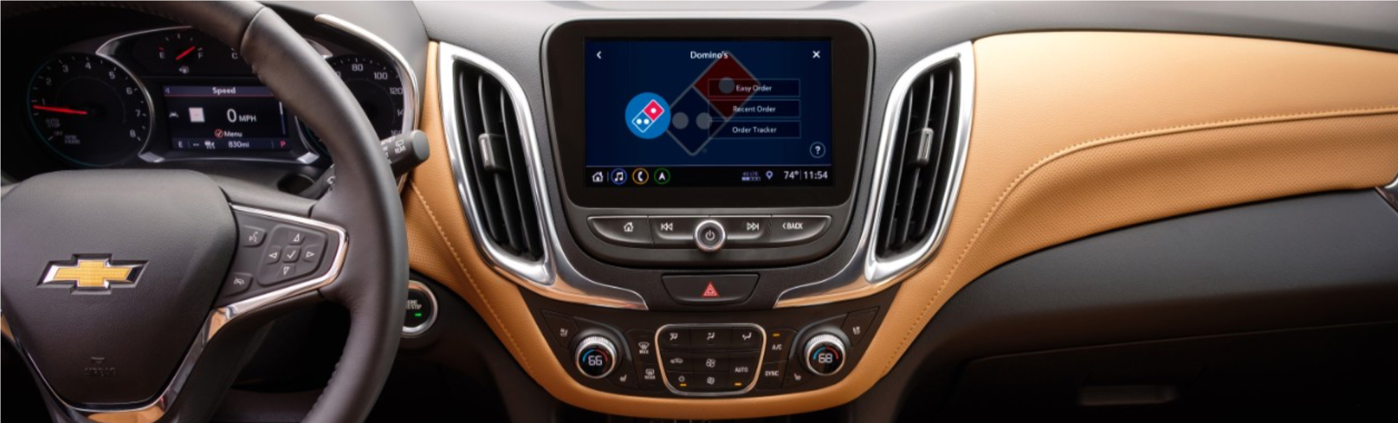 Chevrolet and Dominos
