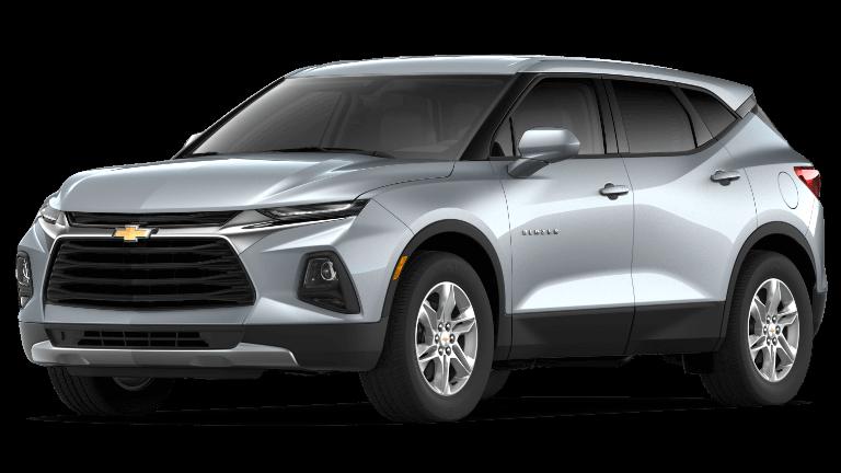 Silver Ice 2019 Chevrolet Blazer L