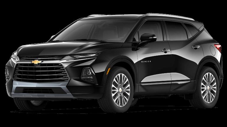 Black 2019 Chevrolet Blazer Premier
