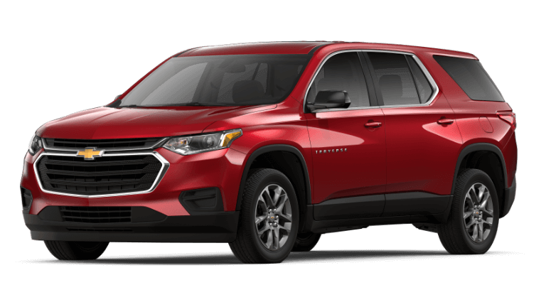 2019 Chevy Traverse LS - Cajun Red