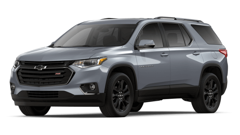 2019 Chevy Traverse RS - Satin Steel