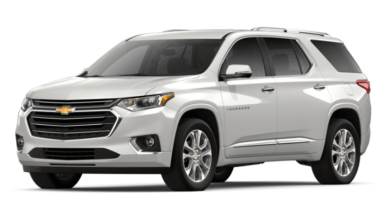 2019 Chevy Traverse Premier - Irididescent Pearl