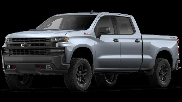 2019 Chevy Silverado 1500 LT Trail Boss Satin Steel