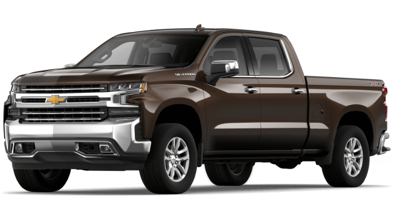 2019 Chevy Silverado 1500 LTZ Havana Brown