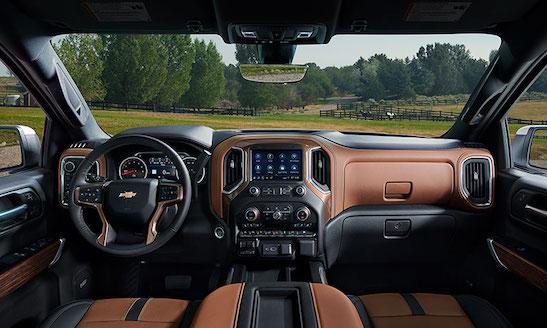 2019 Chevy Silverado 1500 Interior view car field