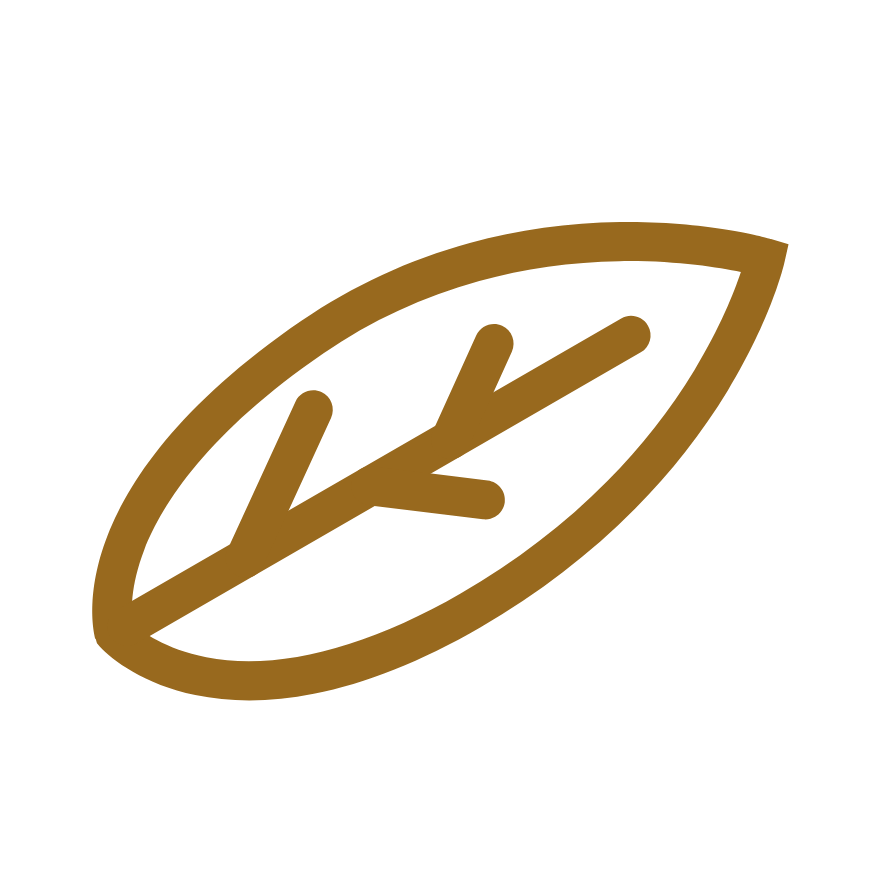 gold leaf icon
