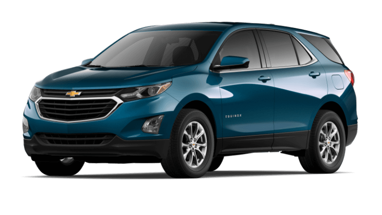2020 Chevy Equinox LT - Pacific Blue