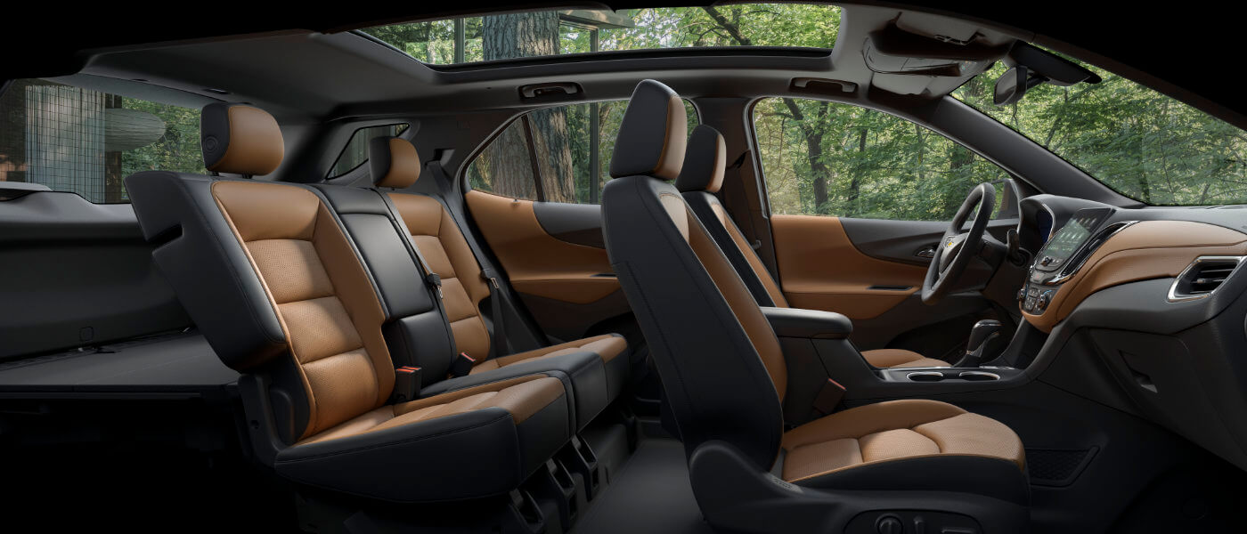 2020 Chevy Equinox interior side view