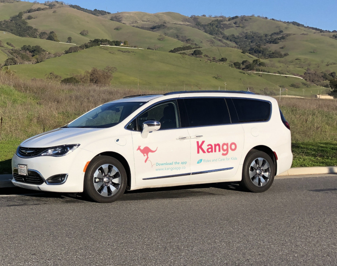 Chrysler Kango ridesharing for kids