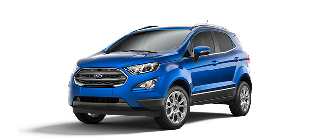 The 2020 Ford Ecosport is Here