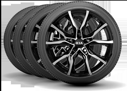 Four Kia Tires
